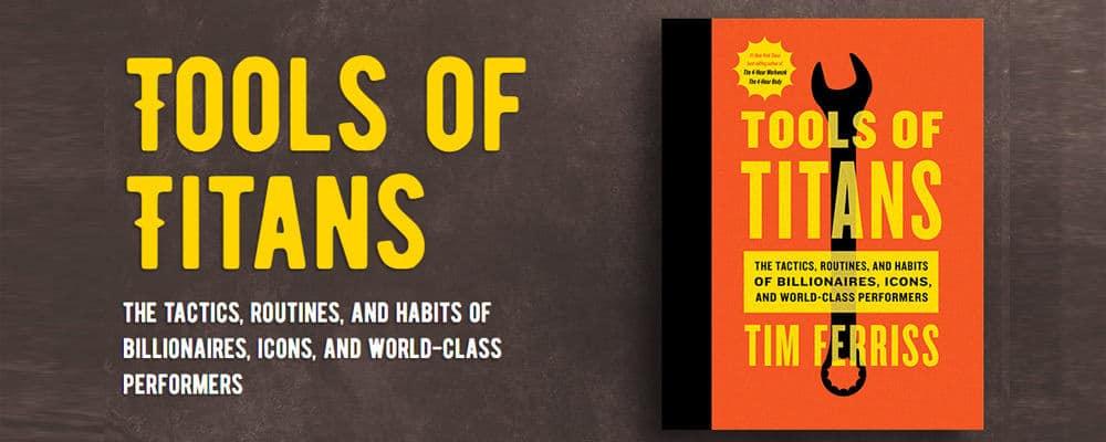 Đặt mua sách ngoại văn tiếng Anh Tools of Titans của Tim Ferriss tại Tinoreadingroom.com